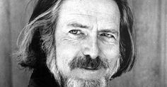 "Discover Alan Watts famous and rare quotes. Share inspiring quotes by Alan Watts and quotations about universe and reality. ""By replacing fear of the unknown with curiosity. Alan Watts, Bob Dylan, Alan Wilson, Eastern Philosophy, Authentic Self, Meaning Of Life, Insecure, Meant To Be, Religion"