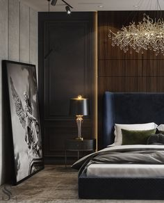 Are you looking to brighten up a dull room and searching for interior design tips? One great way to help you liven up a room is by painting and giving it a whole new look. Hotel Bedroom Design, Master Bedroom Interior, Decor Interior Design, Interior Decorating, Classic Bedroom Furniture, Luxury Furniture, Bedroom Vintage, Cuisines Design, Bed Design