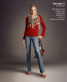 1 Jeans = 4 looks