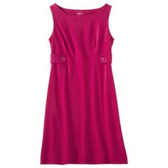 Merona® Womens Side Tab Ponte Dress - Assorted Colors (bought this in two different colors two years ago - love it!)