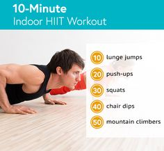 3 Fat-Blasting HIIT Workouts to Try Now - Life by DailyBurn