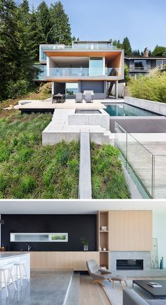 The Russet Residence in West Vancouver, British Columbia, designed by Splyce Design.