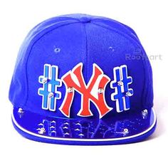 NY 3D STUDDED SNAPBACK . Official on-field cap of major league baseball. Premium Headwear. Performance Headwear. Revolutionary Wicking along with Superior Drying Technology. Shrink Resistant. 3D Letters having clear cut design. Very comfortable to wear with adjustable strap at the back. Hard and Sturdy Brim. The BLUE Coloured Cap and BLUE Brim along with RED 3D Letters make an extraordinary colour combination. http://roofcart.com/snapback/ny-blue-snapback Keep Following #roofcart