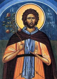 St. Euphrosynos the Cook is the patron saint of cooks and chefs.