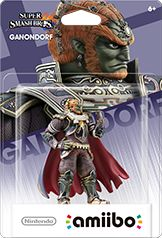 Ganondorf amiibo Box Art