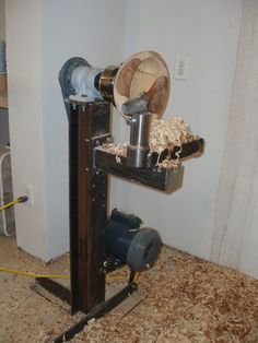 Build your own Bowl Lathe:
