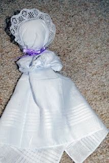 Made one once at Church-Pioneer Days as a kid. Boys got rubberband guns. That would have been more fun but the dolls are a cute simple idea :)
