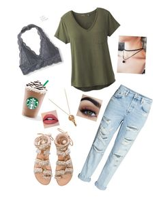 """Everyday"" by oliviavalente ❤ liked on Polyvore featuring Elina Linardaki, prAna, Aéropostale and The Giving Keys"