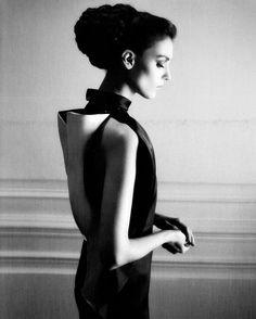 Kati Nescher by Karl Lagerfeld
