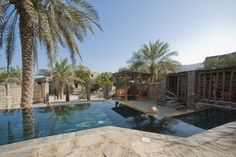 View from the patio of a Zighy Pool Villa at Six Senses Zighy Bay, Oman. www.sixsenses.com/sixsenseszighybay