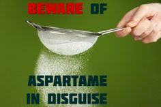 Aspartame: The Toxic Sweetener Made from GM Bacteria