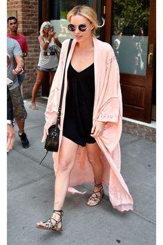 London - July 27 2016 - Celebrity Street Style