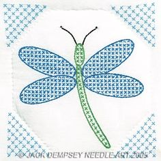 1 Pk Jack Dempsey Horseshoe Stamped Embroidery Quilt Blocks