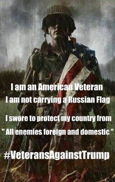 We The People are still mystified that the tRUMPutin Cult STILL doesn't get that they are supporting a Hostile Foreign Power and its puppet, Traitor tRUMP, which renders them UN-American Traitors too. American Veterans, American Soldiers, Toy Soldiers, By Any Means Necessary, Political Views, Political Quotes, Republican Party, Thought Provoking, We The People