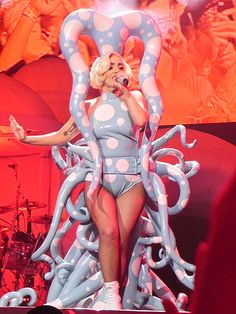 Star Tracks: Wednesday, July 23, 2014 | JUST DANCE | That's one way to express yourself! Lady Gaga channels her inner octopus onstage Monday at the Staples Center in L.A.