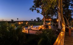 No. 4: Mombo Camp and Little Mombo Camp, Moremi Game Reserve, Botswana