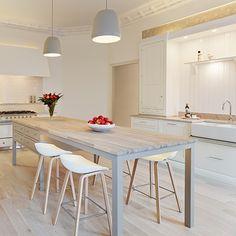 Cozinhas brancas e lindas
