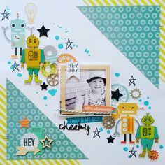 Imaginarium Designs DT layout: cheeky by Amanda Baldwin featuring Cocoa Vanilla Studio : Totally RAD collection