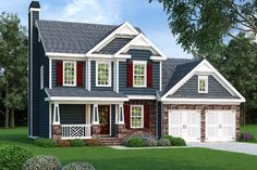 Lot 71 House Plan 419-157