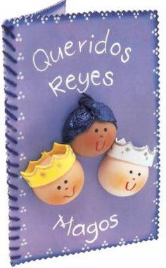 1000 images about navidad en goma eva on pinterest - Manualidades infantiles para navidad ...