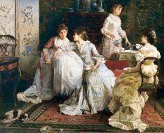 victorian ladies tea - Copy