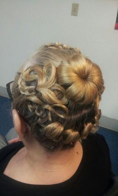 Hair style by me.