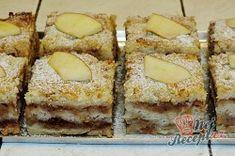 Sypaná hrnková buchta s jablky | NejRecept.cz Tiramisu, Banana Bread, French Toast, Bakery, Cheesecake, Deserts, Dessert Recipes, Food And Drink, Breakfast