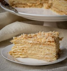 The Napoleon cake comes out soft, moist and delicious! Make the puff pastry at home with my quick puff pastry method. This is the Best Napoleon Cake Ever! Gourmet Recipes, Sweet Recipes, Cake Recipes, Dessert Recipes, Cooking Recipes, Napoleons Recipe, Napoleon Cake, I Chef, Puff Pastry Recipes