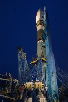 Soyuz 2 1V en su primer lanzamiento en Plesetsk
