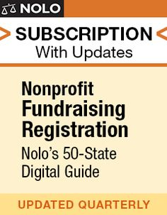 <h4><em>Raise money for your nonprofit without legal trouble!</em></h4> <p>Your nonprofit needs financial support, which means it's likely you are dependent on the kindness of donors to fill your coffers. If you plan to solicit funds by phone, letter, em