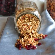Maple Vanilla Almond Granola | My Whole Food Life