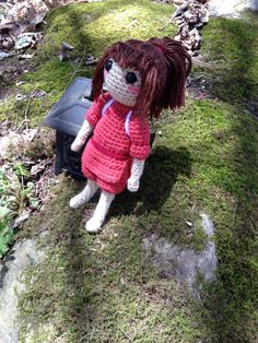Chihiro/Sen from Spirited Away - free crochet pattern by Liz H./ Hooksandhabits.