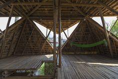 Blooming Bamboo Home – As casas flutuantes que resistem a inundações foto: reprodução