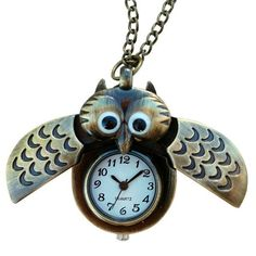 Winged Owl Necklace