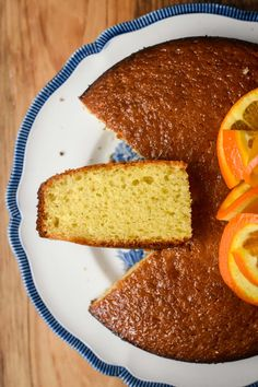 Orange Yogurt Cake - Pardon Your French Chocolate Yogurt Cake, Chocolate Fondant Cake, French Yogurt Cake, Orange Yogurt, Delicious Desserts, Dessert Recipes, Dessert Ideas, Yogurt Dessert, Yogurt Recipes