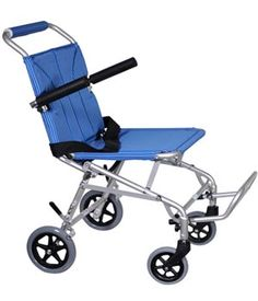 Super Light Folding Transport Chair with Carry Bag, Silver Frame and Blue Upholstery, 18 lbs $256.00 FREE Shipping from uCan Health || Super Light, Folding Transport Chair Weighs Only 18 Lbs. Easy To Push Or Transport,aluminum Frame Is Lightweight And Strong,composite Wheels Are Lightweight And Maintenance Free.