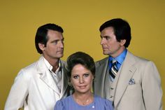 "#GH50 #GeneralHospital  1970s, Chris Robinson (Rick), Leslie Charleson (Monica) and Stuart Damon (Alan) star on ABC Daytime's ""General Hospital""."