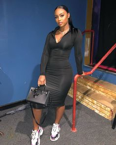 Best Baddie Outfits Part 5 Chill Outfits, Swag Outfits, Dope Outfits, Trendy Outfits, Summer Outfits, Fashion Outfits, Black Girl Fashion, Look Fashion, Autumn Fashion