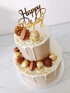 Happy Birthday Cake Hd, 18th Birthday Cake For Girls, 22nd Birthday Cakes, Birthday Cake For Women Elegant, Elegant Birthday Cakes, Beautiful Birthday Cakes, Adult Birthday Cakes, Birthday Bash, Happy Birthday Cakes For Women