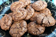 Chocolate Spice Cookies - Royal Little Lambs (IMM #109)