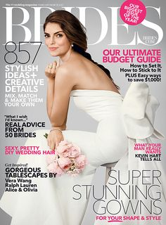 Our February/March 2015 cover is our biggest yet! Click to see what's inside | Brides.com