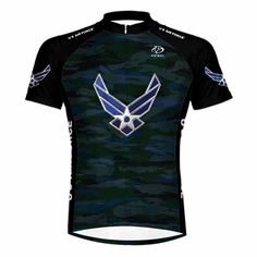 Primal Wear US Air Force Engage USAF Cycling Jersey Mens XL Short Sleeve *** Click image to review more details.Note:It is affiliate link to Amazon.