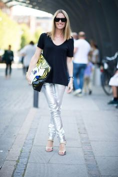 'I Can See Myself in Your Pants' Metallic Trend