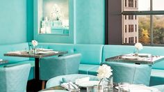 The+Blue+Box+Cafe+at+Tiffany+&+Co.+Flagship+Store+727+Fifth+Avenue,+NYC