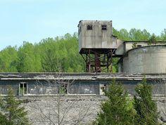 Abandoned Factory located near Craigsville, Virginia.