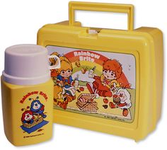 Rainbow Brite lunchbox & thermos.