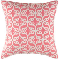 Bright and cheerful, this pillow cover would pop against white bedding. | $64