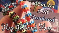 Monster Tail Regenboog Loom Hup Holland Hup 5 Dubbele Vissengraat