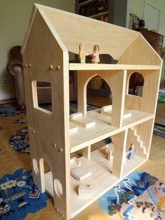 Weekend project idea: make a Waldorf-style dollhouse with this tutorial from The Serendipity.