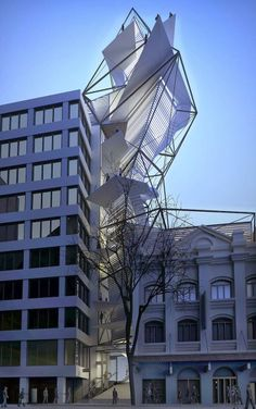 Sussex St Wind Tower by Kink Studio